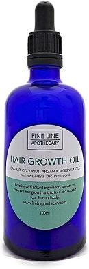 Aceite para crecimiento del cabello