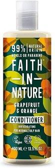 Acondicionador de pomelo y naranja Faith in Nature