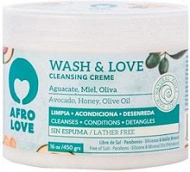 Afro Love Wash & Love Acondicionador Limpiador