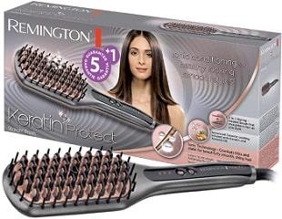 Cepillo alisador Remington Keratin Protect