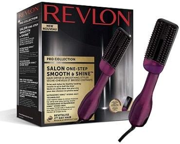 Cepillo secador y alisador Revlon
