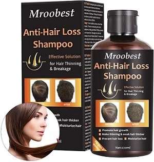 Champú anti pérdida de cabello Mroobest