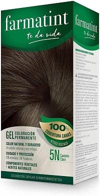Farmatint Gel 5N Castaño Claro