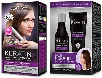 Kativa Keratin Pack Alisado
