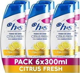 Sh! H&S Citrus Fresh Todo En Uno