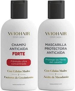 Wiohair Champú y Mascarilla Premium Anticaída