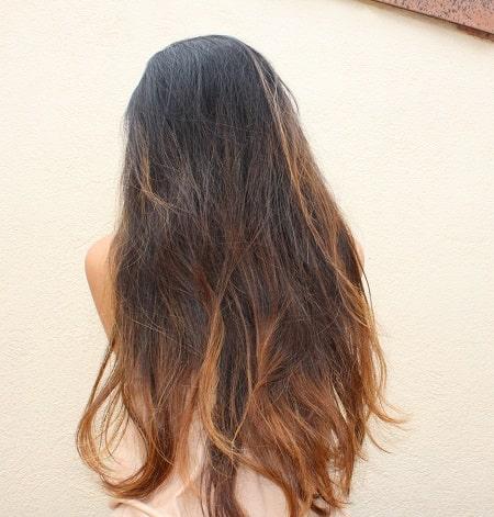 pelo con tratamiento