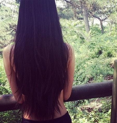 pelo muy largo
